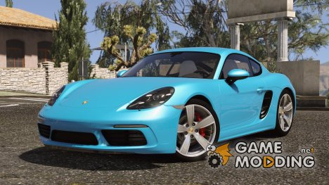 Porsche 718 Cayman S for GTA 5