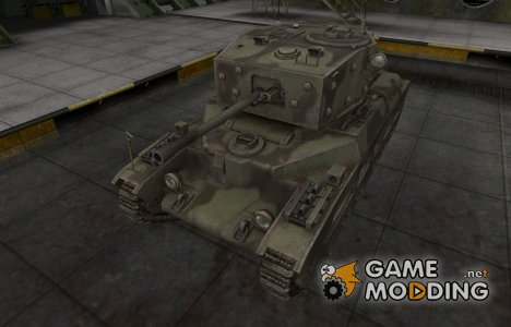 Пустынный скин для Matilda Black Prince for World of Tanks