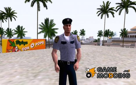 Коп из Hitman: Blood Money для GTA San Andreas