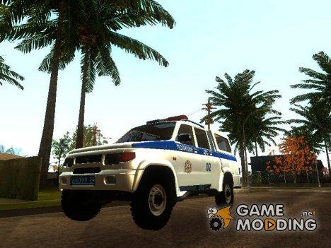 УАЗ-Симбир ДПС for GTA San Andreas