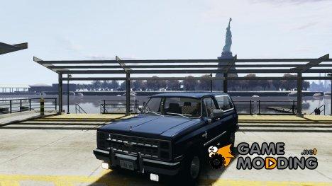 Chevrolet Blazer K5 1986 для GTA 4
