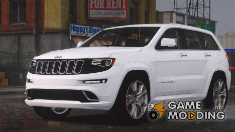 Jeep Grand Cherokee SRT-8 2015 v1.1 for GTA 5