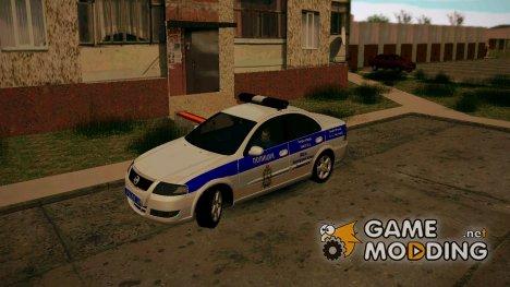 Nissan Almera Classic 2013 Полиция for GTA San Andreas