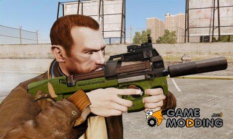 Бельгийский пистолет-пулемёт FN P90 v2 for GTA 4