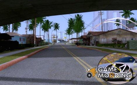 Качественный спидометр Hyundai для GTA San Andreas