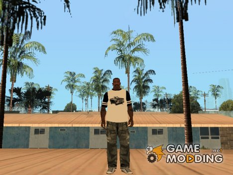 Футболка Los Santos Customs для GTA San Andreas