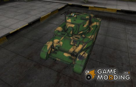 Китайский танк M5A1 Stuart для World of Tanks
