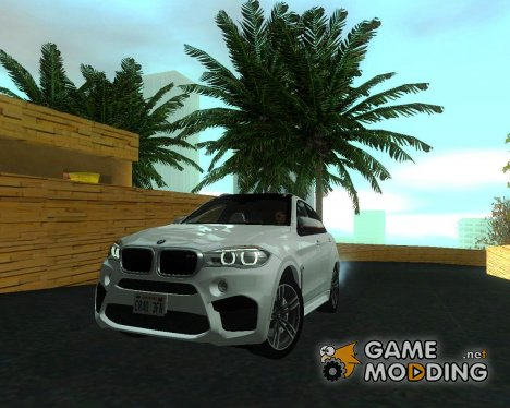 BMW X6M 2015 for GTA San Andreas