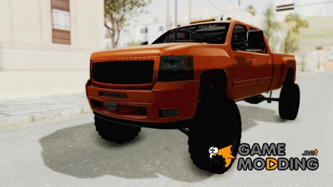 Chevrolet Silverado Long Bed для GTA San Andreas