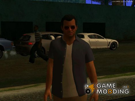 Michael De Santa для GTA San Andreas