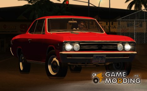 Chevrolet Chevelle SS 396 Coupe 1967 для GTA San Andreas