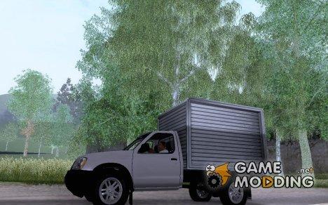 Nissan Frontier Furgon для GTA San Andreas