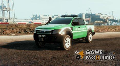 Ford Ranger (Italian Environmental Police) Corpo Forestale Dello Stato for GTA 5