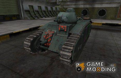 Контурные зоны пробития B1 для World of Tanks
