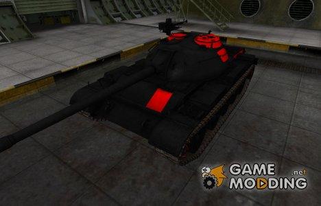 Черно-красные зоны пробития Type 59 for World of Tanks