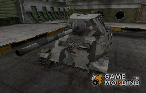 Шкурка для немецкого танка T-25 for World of Tanks