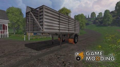 SHA Trailer WSB для Farming Simulator 2015