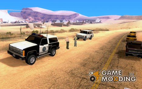 Пост ГАИ v.2 (mos_cracin's version) для GTA San Andreas