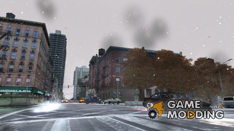 Realistic Snowfall (v1.5) for GTA 4