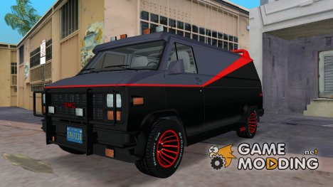 "GMC Vandura 1983 v1.1 ""The A Team Van"" для GTA Vice City"