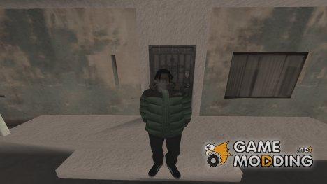 Зимний fam2 для GTA San Andreas