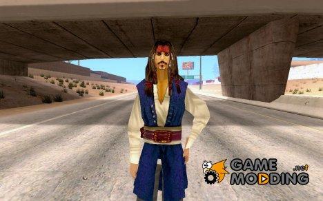 Джек Воробей for GTA San Andreas