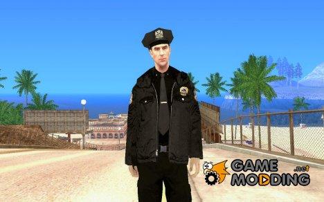 HD Скин полицейского для GTA San Andreas