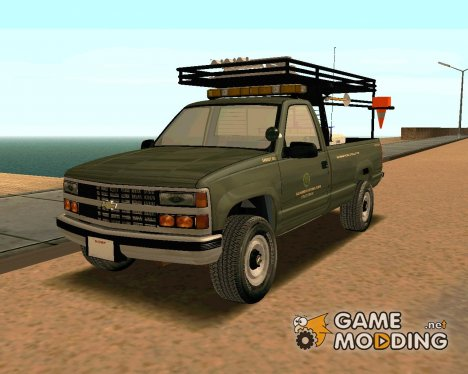 Chevrolet Silverado Military Utility Truck 1990 for GTA San Andreas