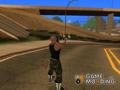 Новые Гангстерские зоны for GTA San Andreas