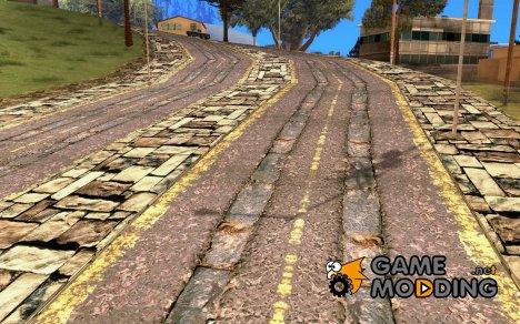 Новые дороги в Вайнвуде for GTA San Andreas