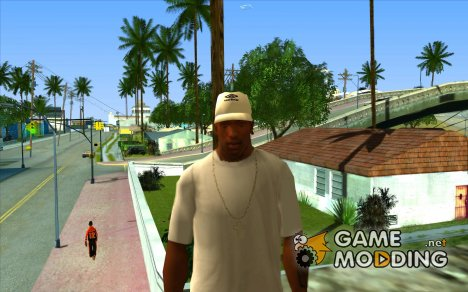 Кепка umbro white for GTA San Andreas