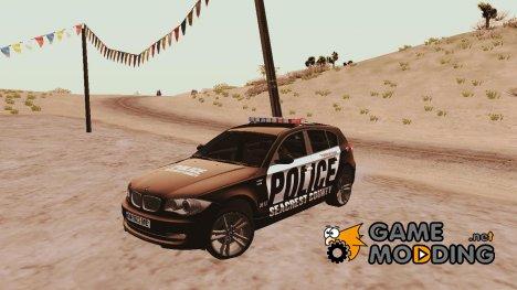 BMW 120i se Police USA для GTA San Andreas