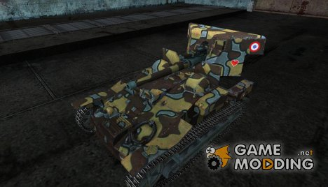 Шкурка для танка Renault UE 57 for World of Tanks