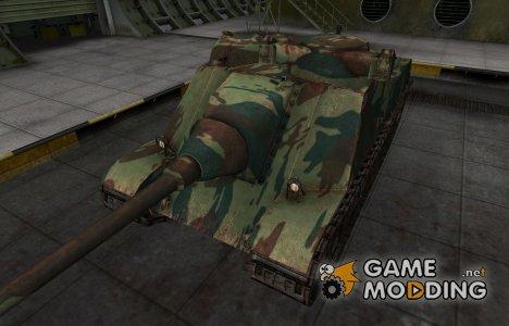 Французкий новый скин для AMX AC Mle. 1946 для World of Tanks