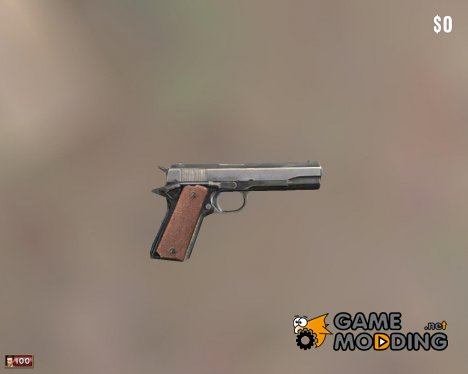 Colt M1911 из Mafia 2 для Mafia: The City of Lost Heaven