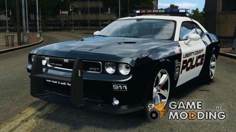 Dodge Challenger SRT8 392 2012 Police [ELS + EPM] для GTA 4