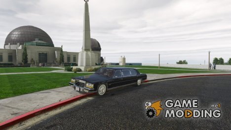 Cadillac Fleetwood Limousine 1985 for GTA 5