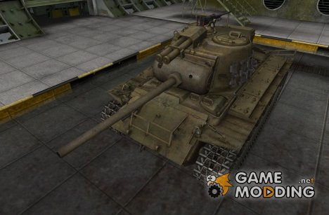 Remodel M26 Pershing for World of Tanks