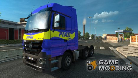 Mercedes Actros MP3 PIMK ltd (only for megaspace) for Euro Truck Simulator 2