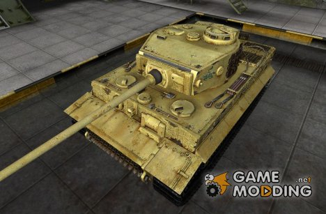 Шкурка для PzKpfw VI Tiger 505 Russia 1944 for World of Tanks
