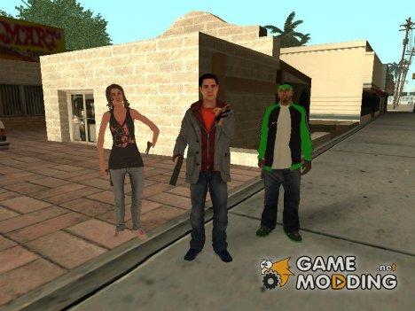 Пак качественных скинов для GTA San Andreas