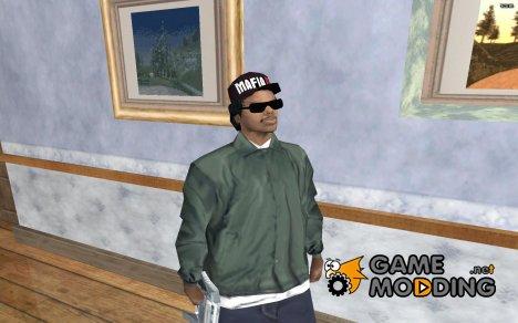 """Райдер в кепке с надписью """"Mafia 2"""" for GTA San Andreas"""