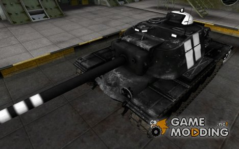 Зоны пробития T110E4 for World of Tanks