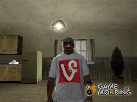 "Футболка с логотипом ""Vine Turk"" для GTA San Andreas"