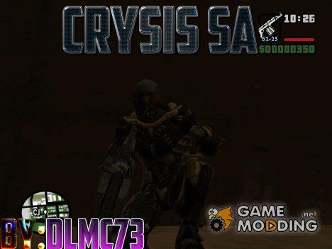 Crysis SA- Пак моделей из крайзиса for GTA San Andreas