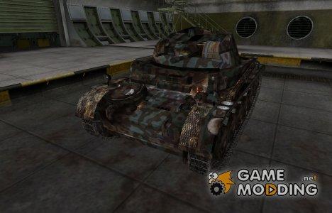 Горный камуфляж для PzKpfw II для World of Tanks