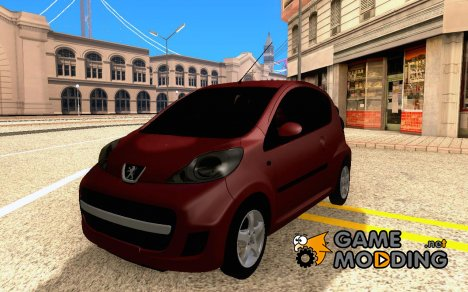 Peugeot 107 2011 for GTA San Andreas