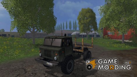 ГАЗ 66 Лесовоз for Farming Simulator 2015