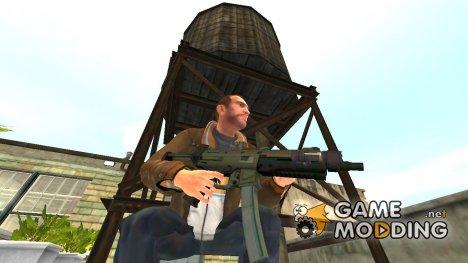 MP5 из GTA 5 for GTA 4