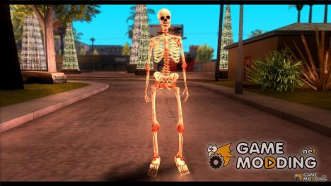Skeleton from Sniper Elite v.2 для GTA San Andreas